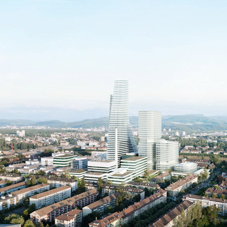 Roche Development by Herzog & de Meuron