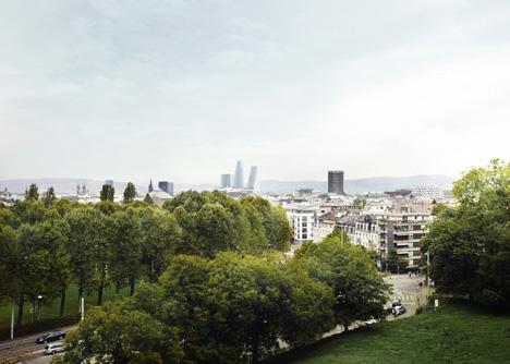 Roche Development by Herzog & de Meuron