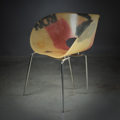 Chaise Pic by Ron Arad