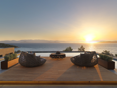 Mandarin Oriental Bodrum, Turkey, landscaped by Scape Design Associates