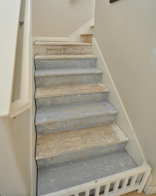 Captivating Instead Of Replacing The Treads With Stained Wood, Kara Decided To Tackle  This Staircase In A More Colorful And Economical Way. She Took A U0027work With  What ...