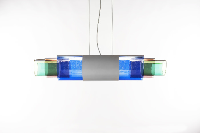 Suspension Lightscape par le studio Dossofiorito