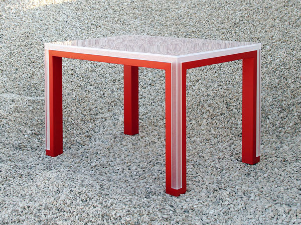 Versatility shaped by distinct pieces: TAble by Elda Bellone