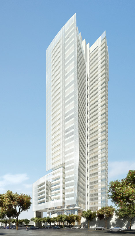 Taichung Condominium Tower by Richard Meier