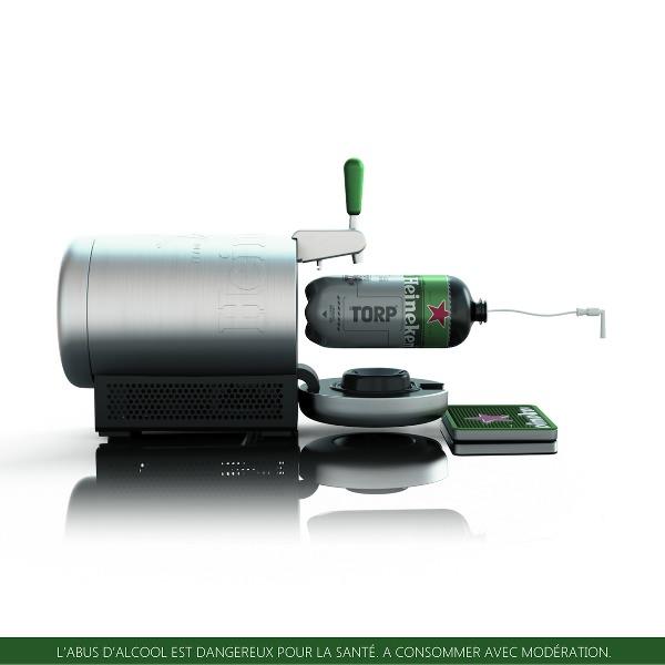 Marc Newson invente les Torps pour Heineken
