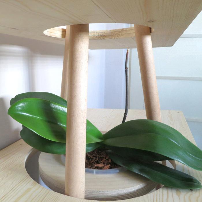 détails design - TIPI l'étagère bureau par Assaf Israel