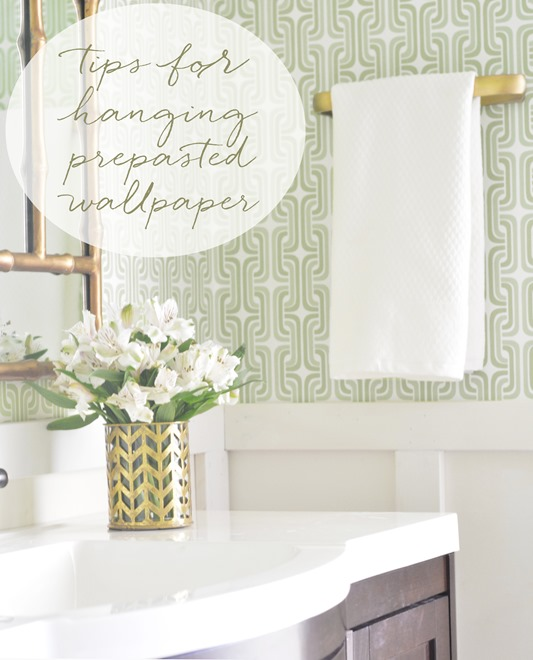 tips for hanging prepasted wallpaper