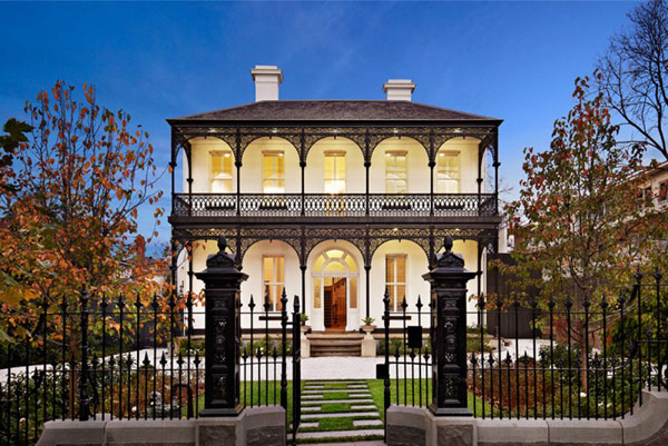 Elegant Architecture Displayed by Renovated and Extended Victorian House