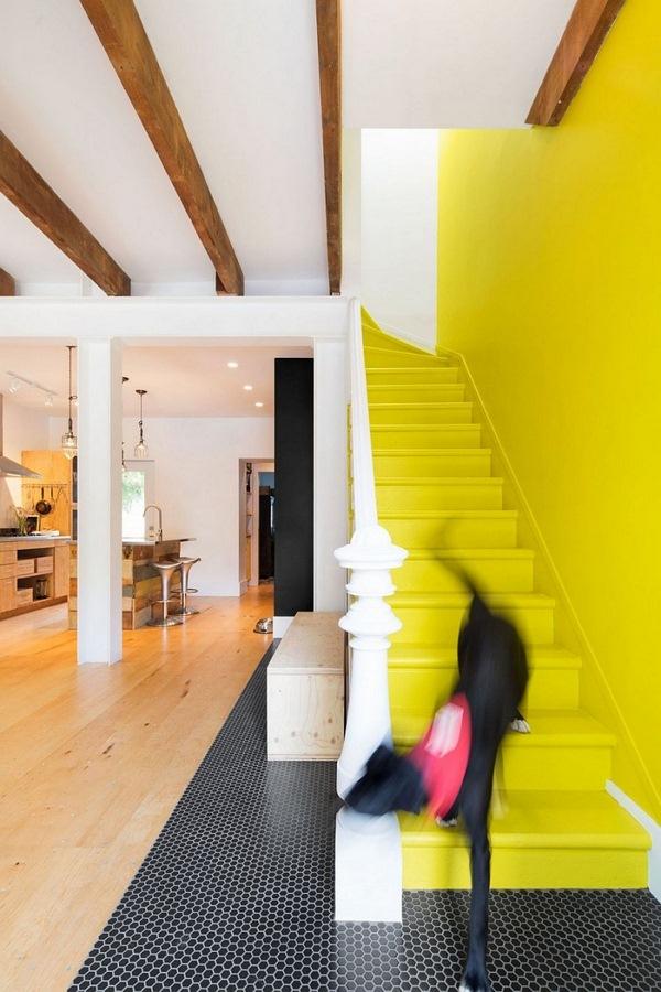 renovated row house with vintage interior design - decor10 blog