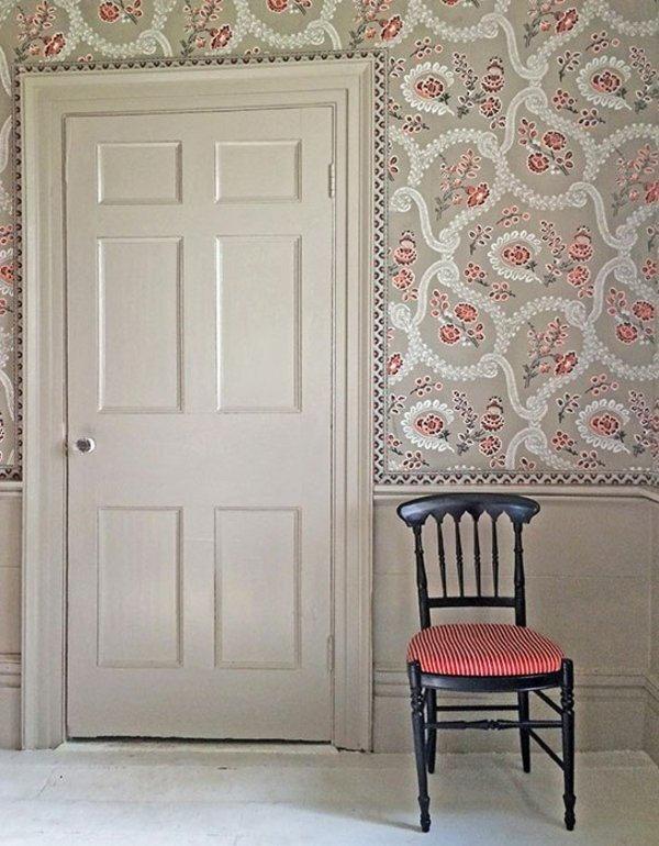 wall wallpaper pattern and image edge theme door chair