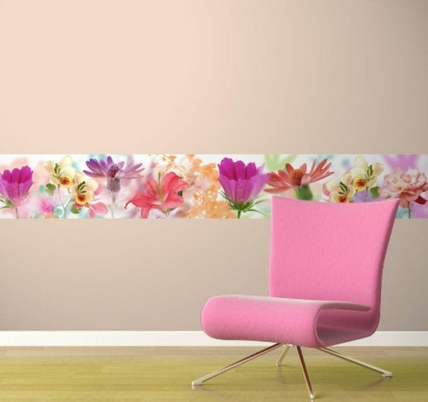 wall wallpaper pattern and image edge theme pink armchair