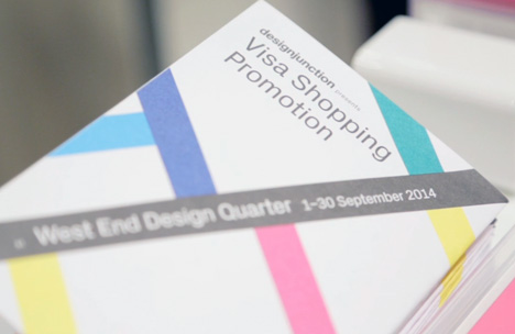West End Design Quarter Visa shopping promotion