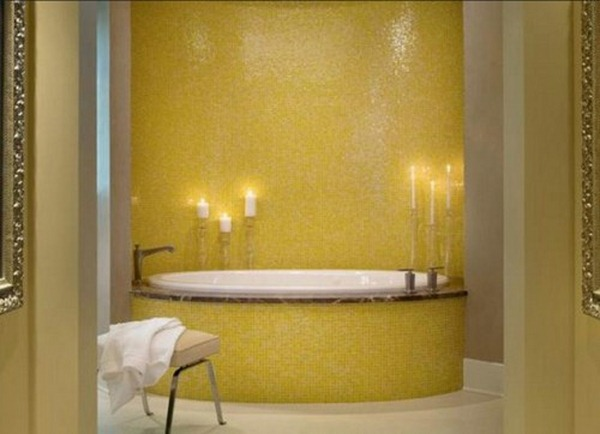 yellow bathroom decor ideas